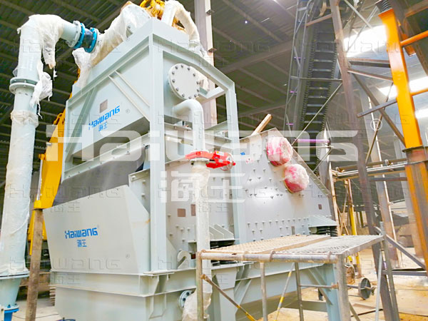 洗砂细砂回收一体机发货现场