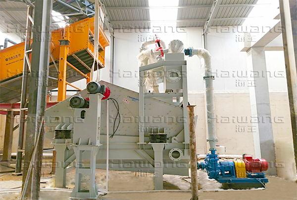 山东青岛细砂回收项目